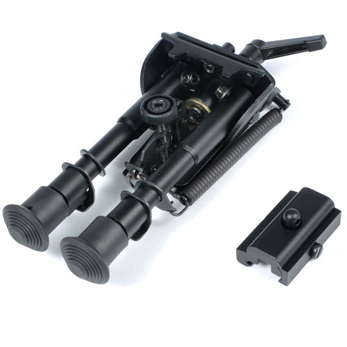 6-9 inch Bipod Adjustable With Adjust Key and 20mm Bipod Mount